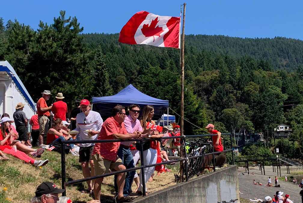 Canada Day at Maple Bay, 2019.