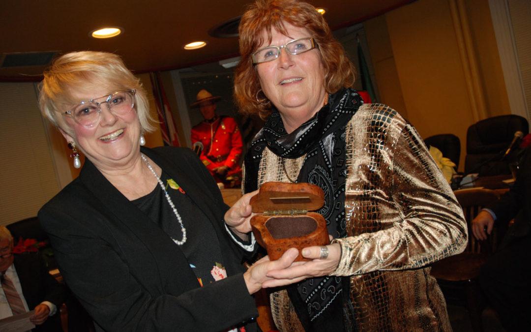 Judy Brayden wins Duncan's Arts Trophy 2019